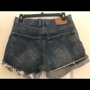Vintage Levi's Cutoff Denim Shorts